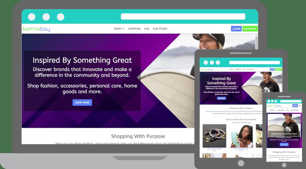 Karma Bay ECommerce Marketplace Website